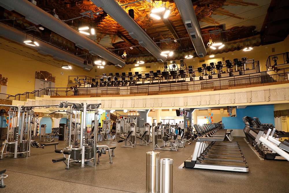 New To You >> Fitness Center Lighting - Commercial Lighting Industries