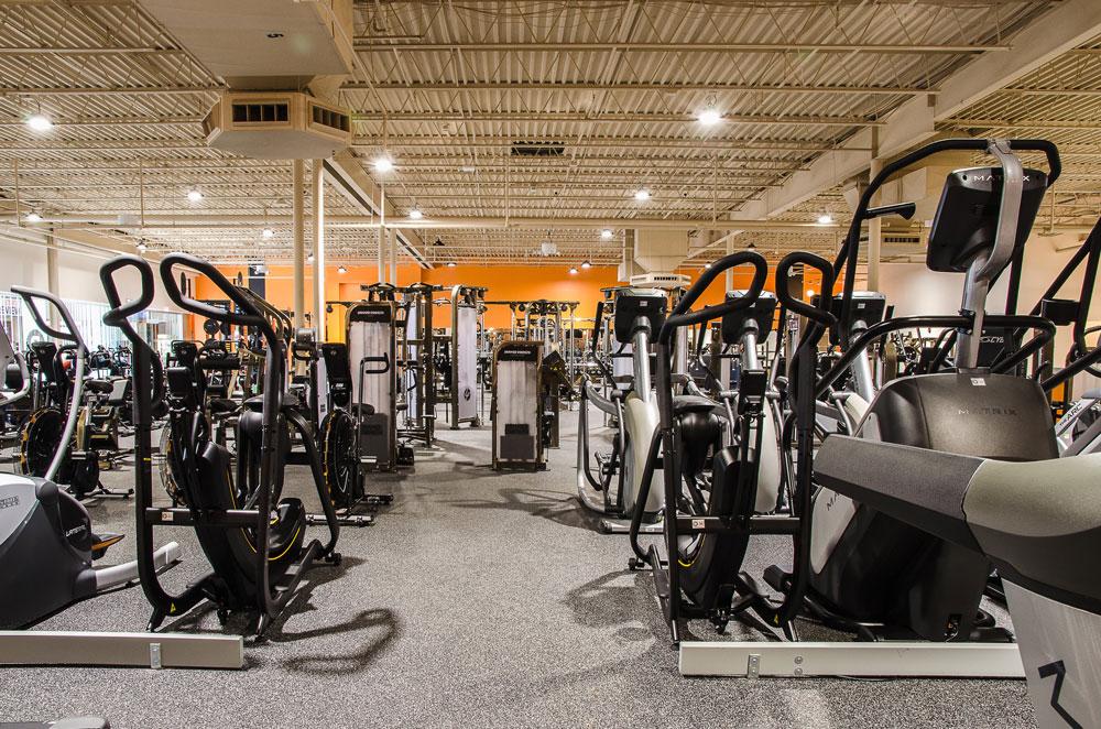Fitness Center Lighting
