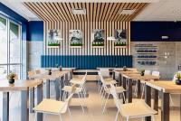 Just Salad Restaurant Lighting Design
